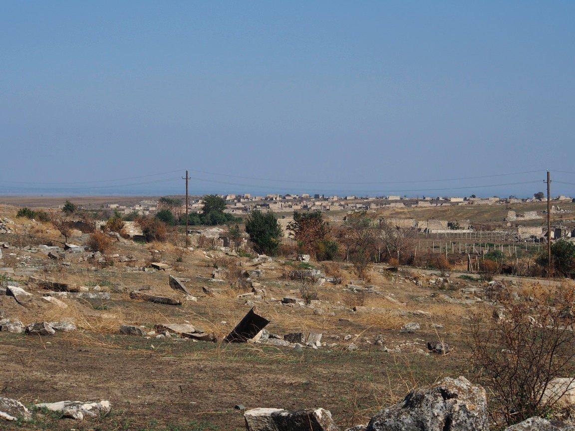 Dawne azerskie wioski nieopodal linii frontu| Górski Karabach