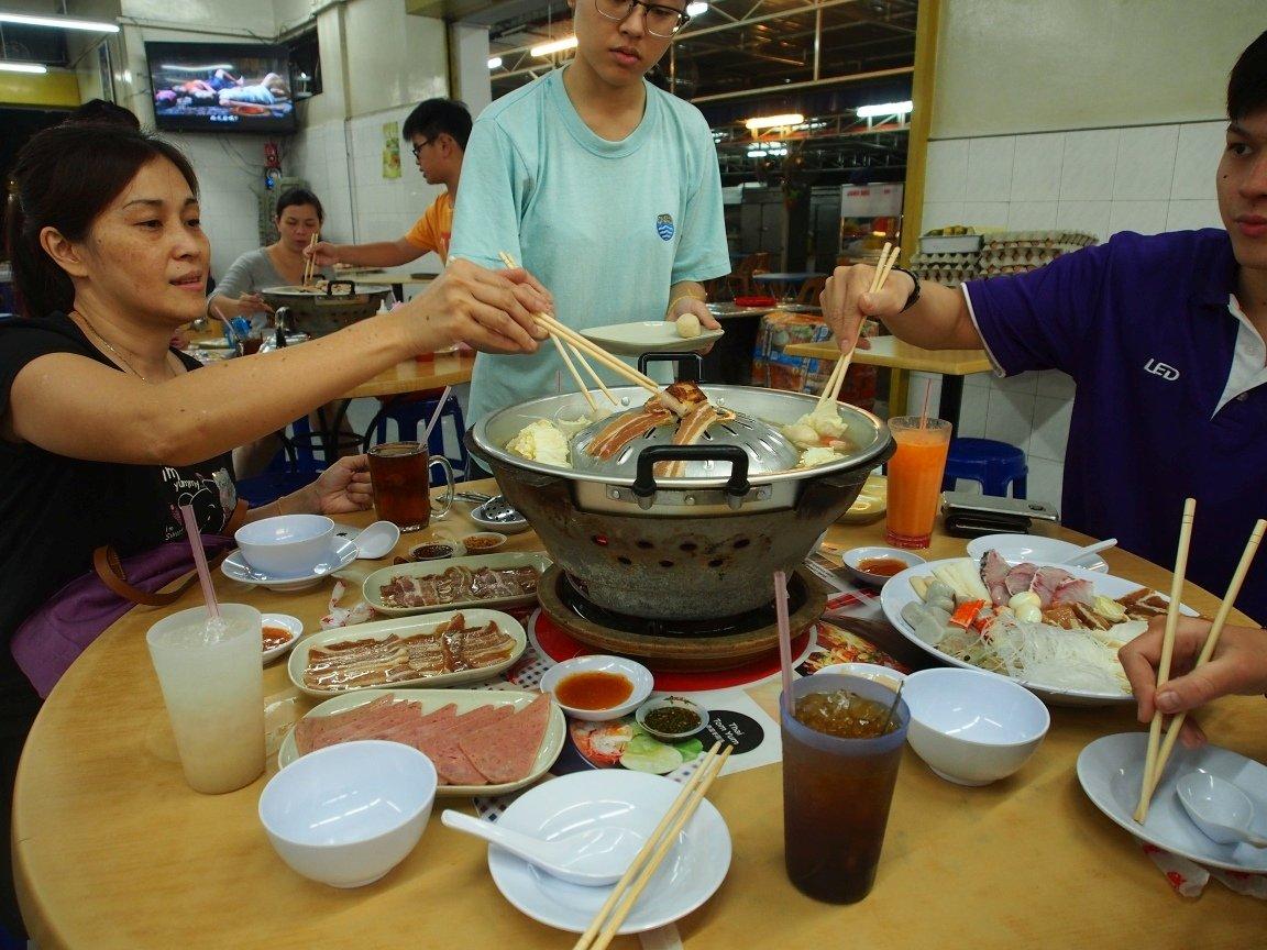 Chińska uczta w Penang | Malezja