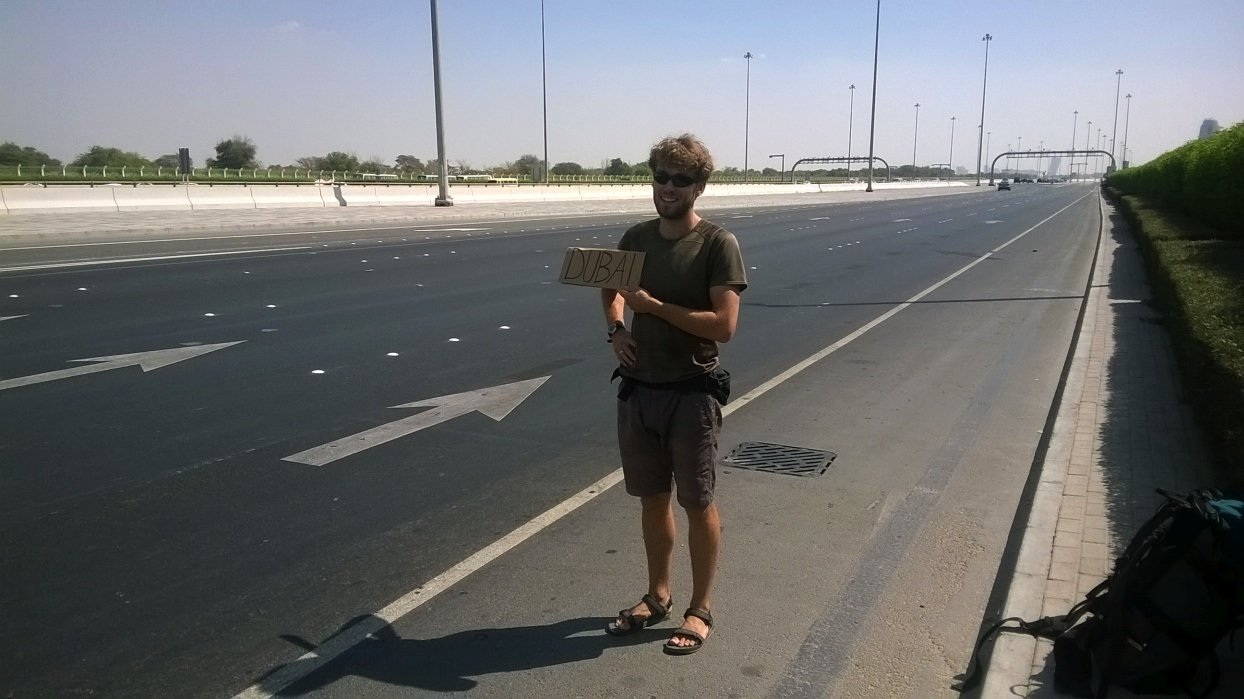 Stopem z Abu Dhabi do Dubaju | ZEA