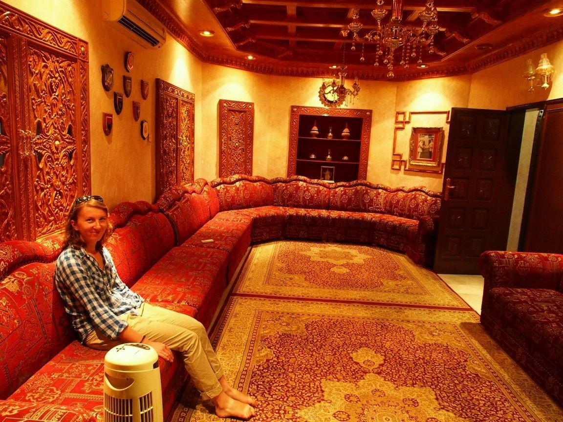 Pokój gościnny w arabskim domu | Oman