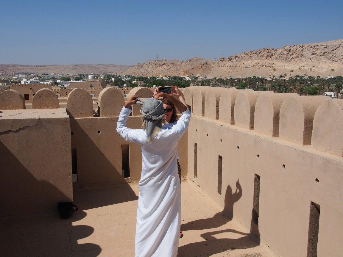 Sułtan u wizażystki | Oman
