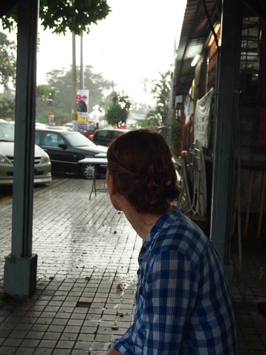 Pierwszy od 3 miesięcy deszcz | Kuala Lumpur