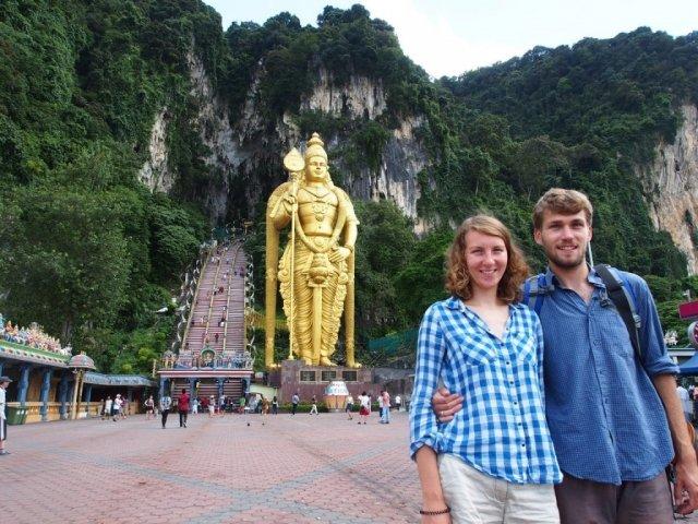 Batu Caves - hinduistyczna świątynia | Kuala Lumpur