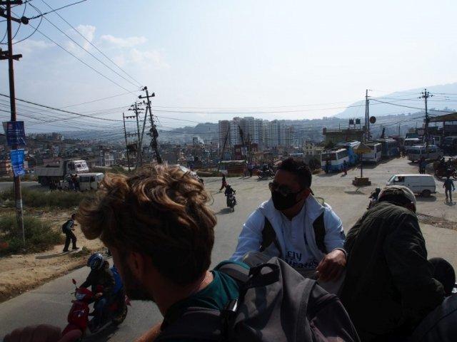 Katmandu z perspektywy dachu | Nepal