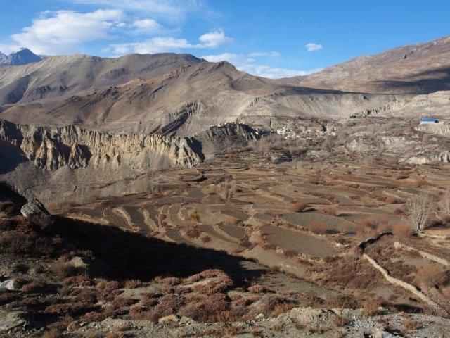 Widok na Górny Mustang