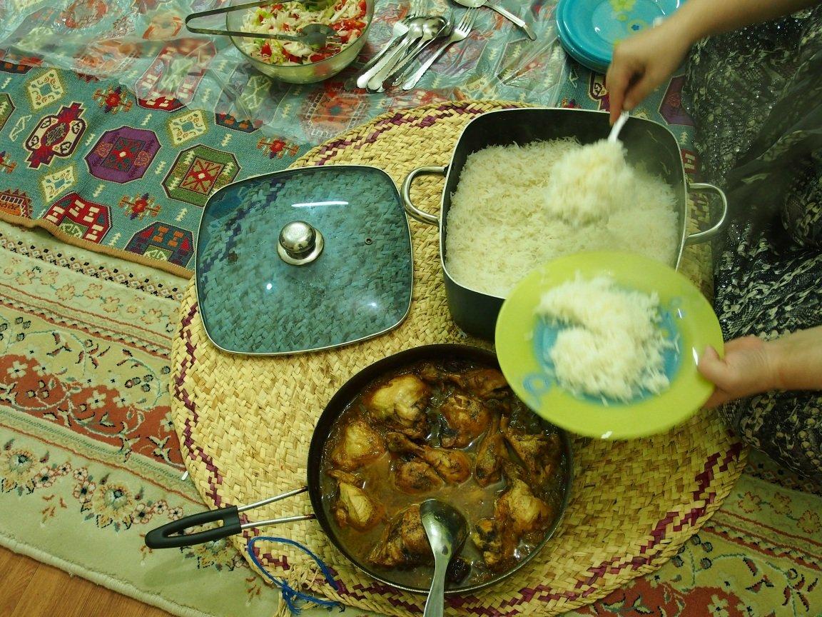 Ryż to podstawa | Iran