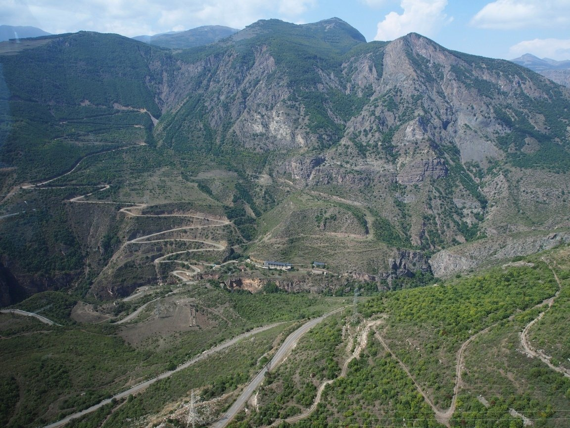 Droga do monastyru Tatev