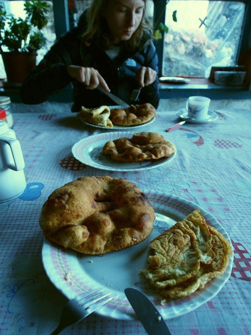 Pyszny tybetański chleb