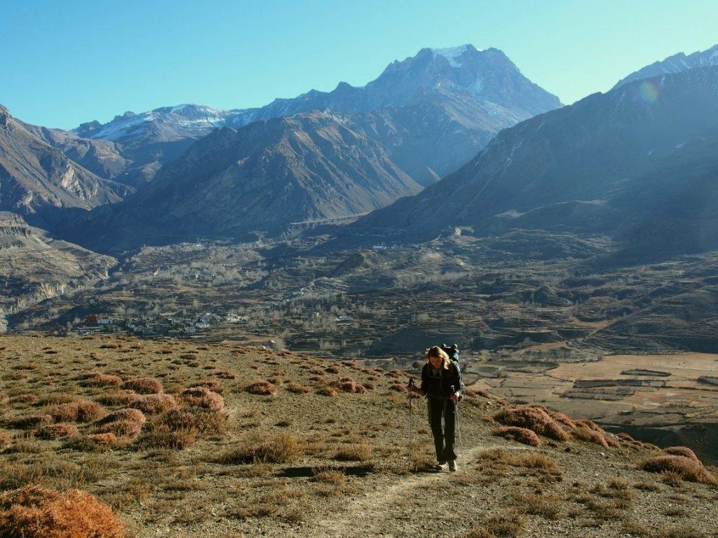 Zostawiamy przełęcz Thorung La i Jharkot